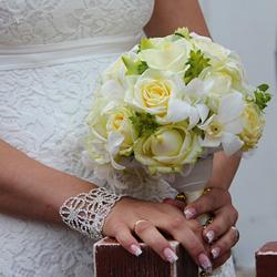 Acconciature a Vicenza per spose dal taglio corto